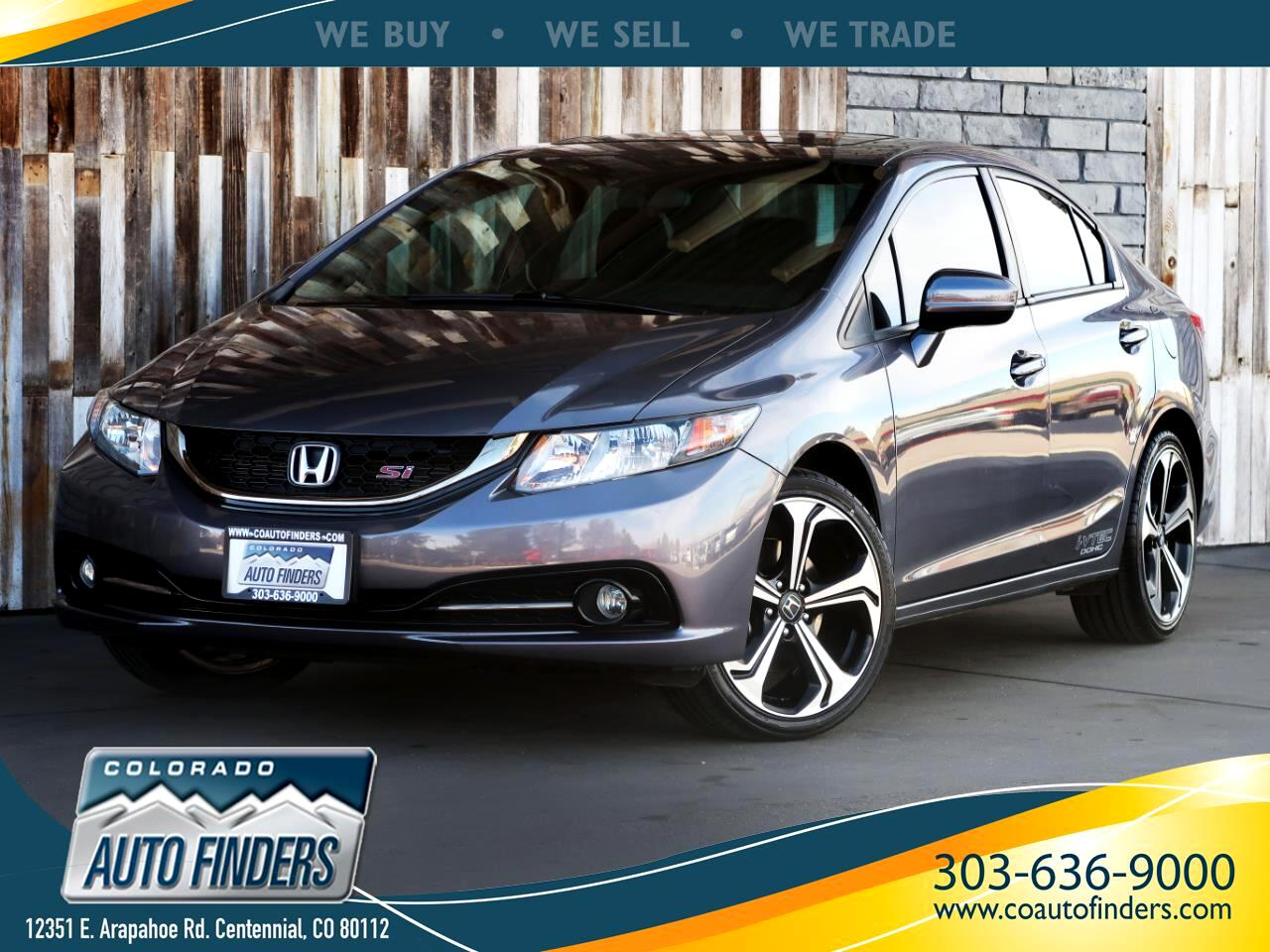 2014 Honda Civic Sedan 4dr Man Si