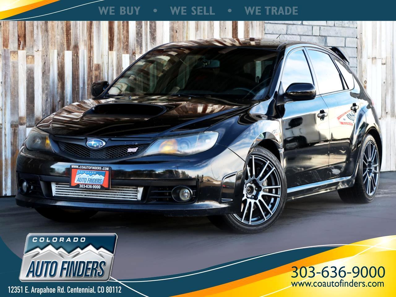 2010 Subaru Impreza Wagon WRX 5dr Man WRX STI w/Special Edition Pkg