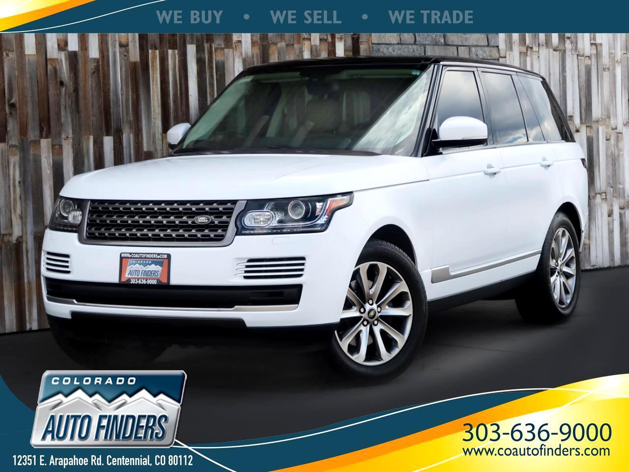 2014 Land Rover Range Rover 4WD 4dr