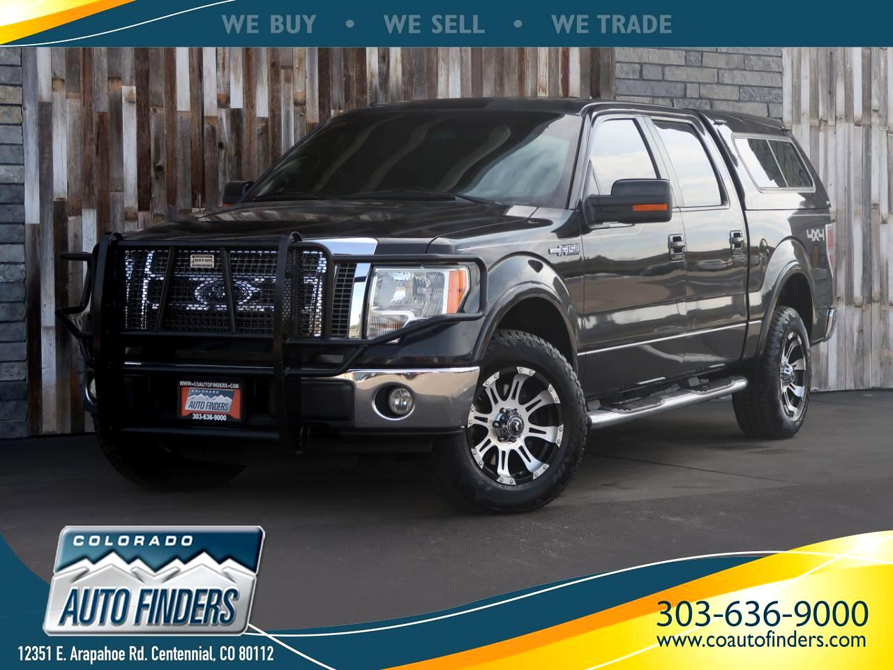 """2010 Ford F-150 AWD SuperCrew 145"""" Lariat Limited"""