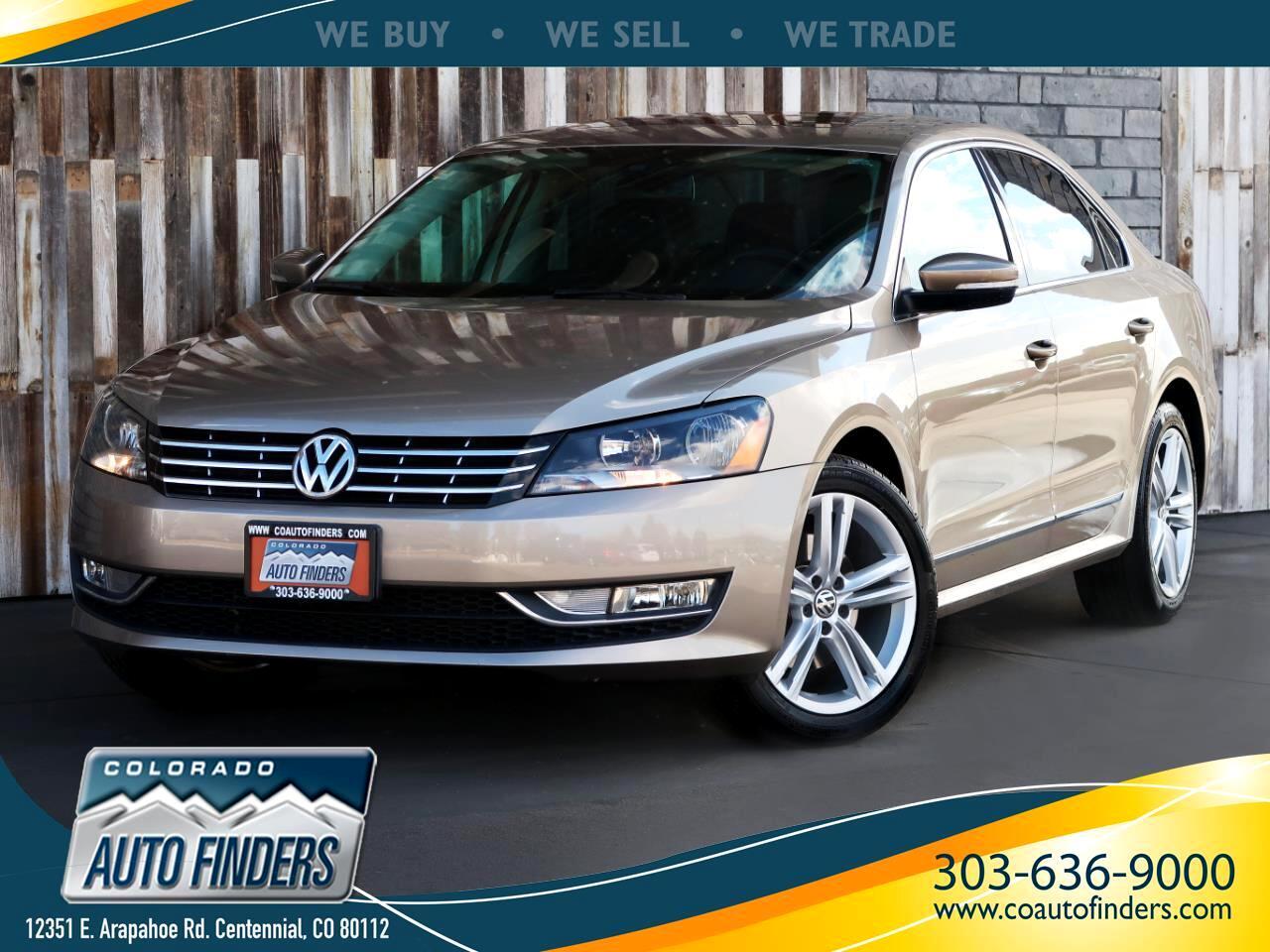 2015 Volkswagen Passat 2.0L TDI SEL