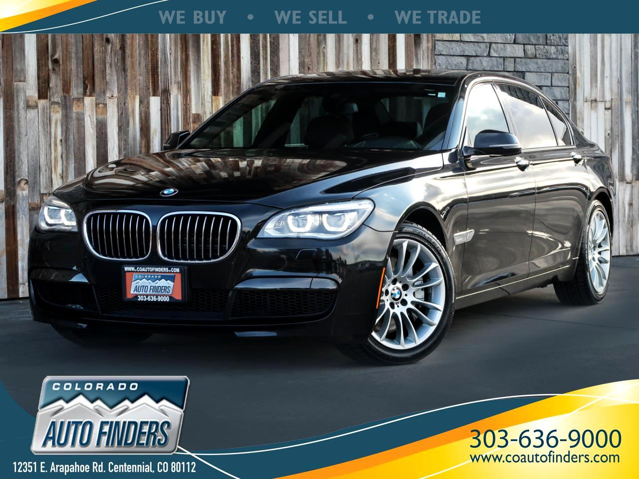 2014 BMW 7 Series 4dr Sdn 750Li xDrive AWD