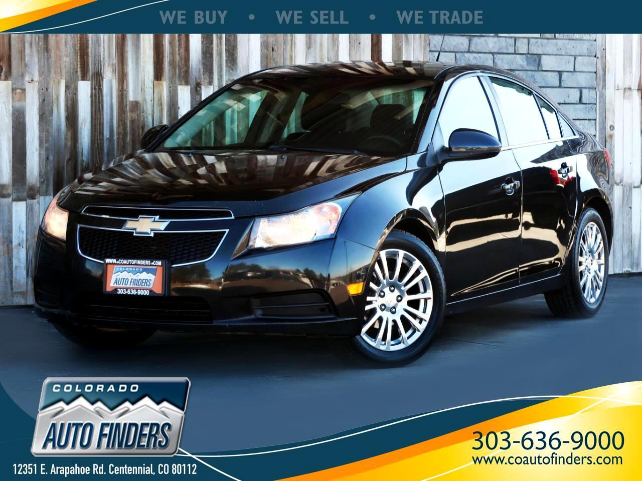 2011 Chevrolet Cruze 4dr Sdn ECO w/1XF
