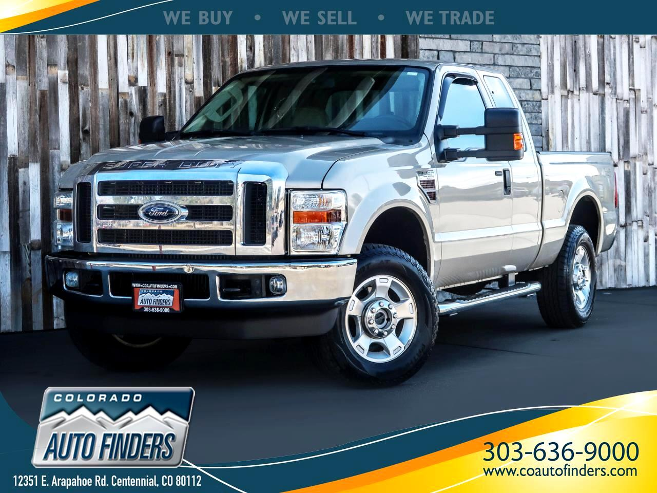 2010 Ford Super Duty F-250 SRW 4WD SuperCab 142
