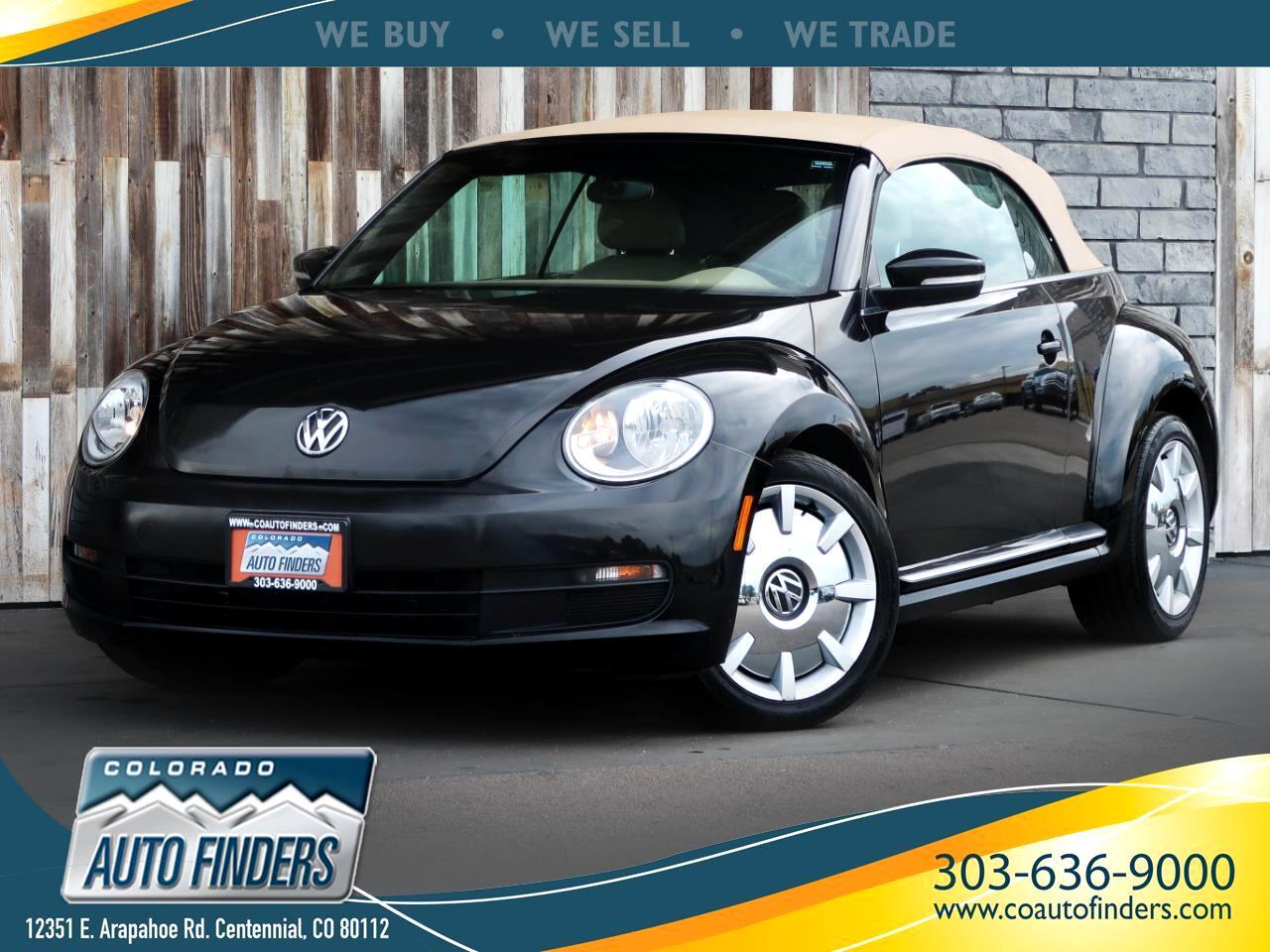 2013 Volkswagen Beetle Convertible 2dr Auto 2.5L w/Sound/Nav