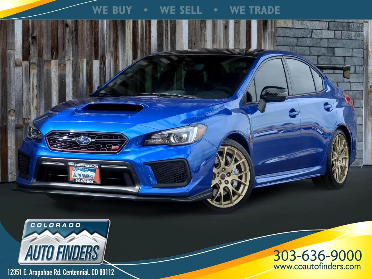 2018 Subaru WRX STI Type RA Manual