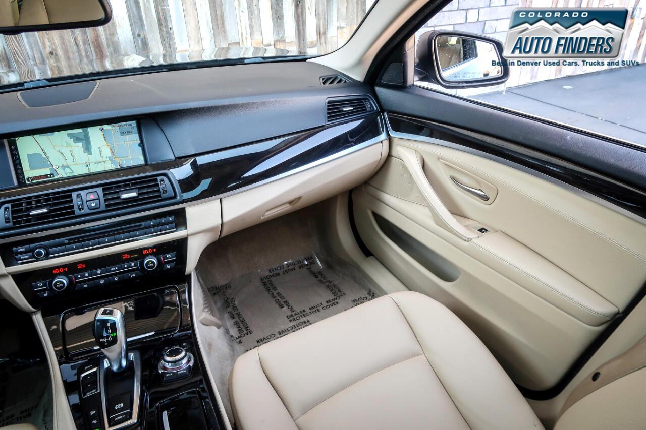 2012 BMW 5 Series 4dr Sdn 528i xDrive AWD