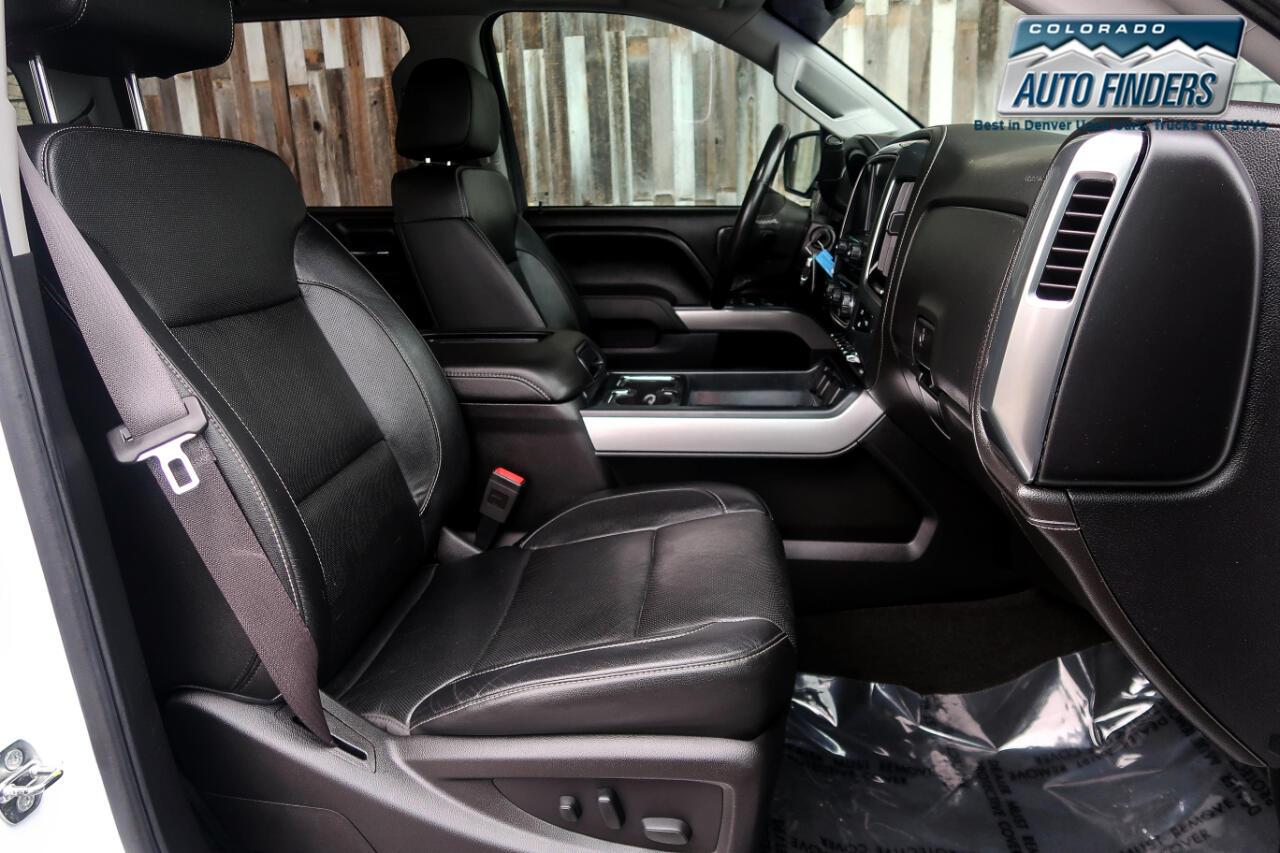 2016 Chevrolet Silverado 2500HD 4WD Crew Cab 153.7