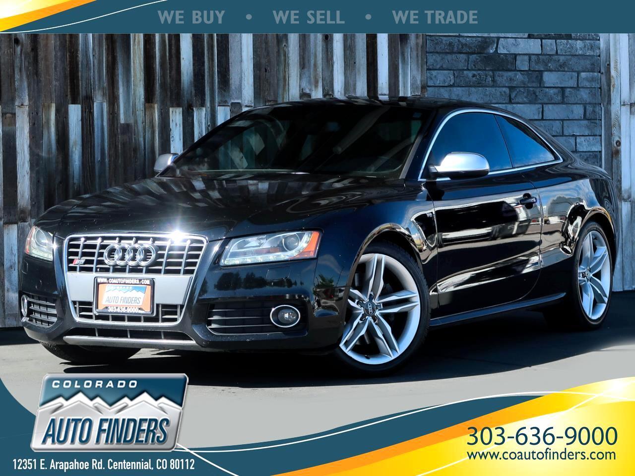 2010 Audi S5 2dr Cpe Auto Premium Plus