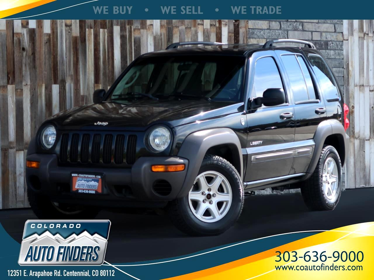 2004 Jeep Liberty 4dr Sport 4WD