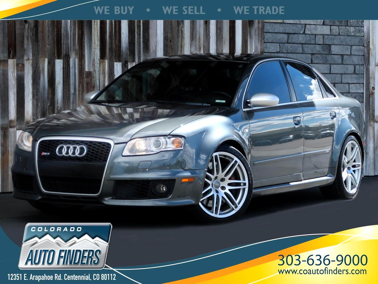 2008 Audi RS 4 4dr Sdn