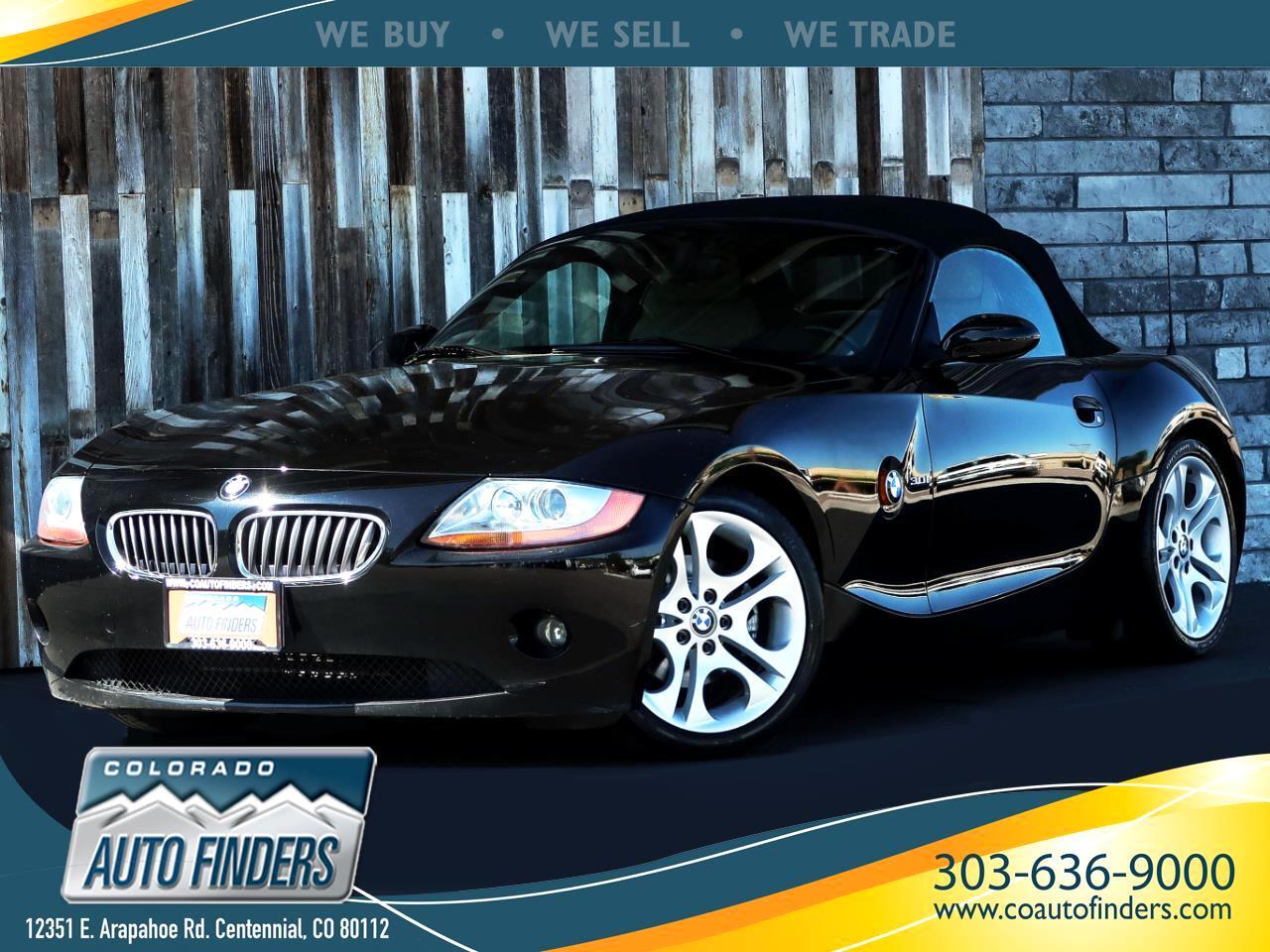 2003 BMW Z4 Z4 2dr Roadster 3.0i