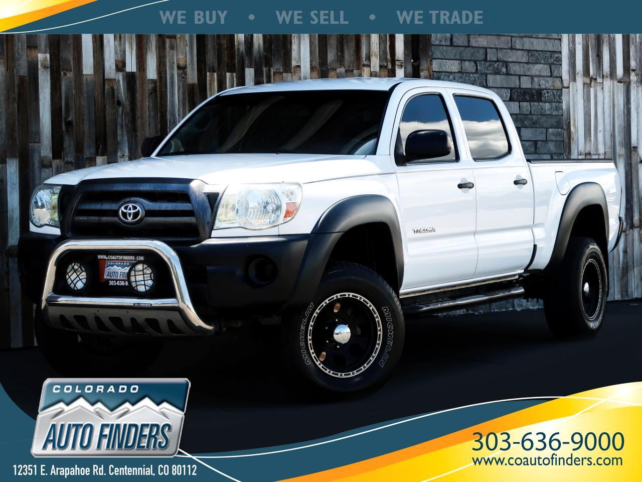 2009 Toyota Tacoma 4WD Double LB V6 AT (Natl)
