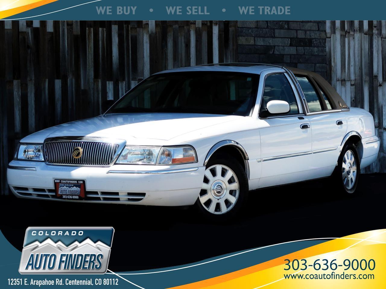 2004 Mercury Grand Marquis 4dr Sdn LS Premium