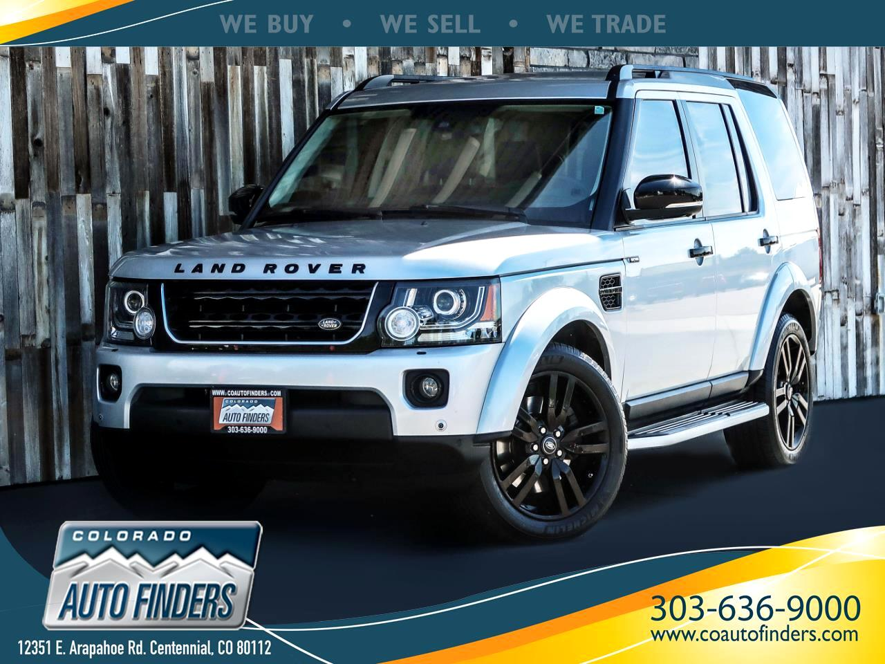 2016 Land Rover LR4 4WD 4dr HSE LUX *Ltd Avail*