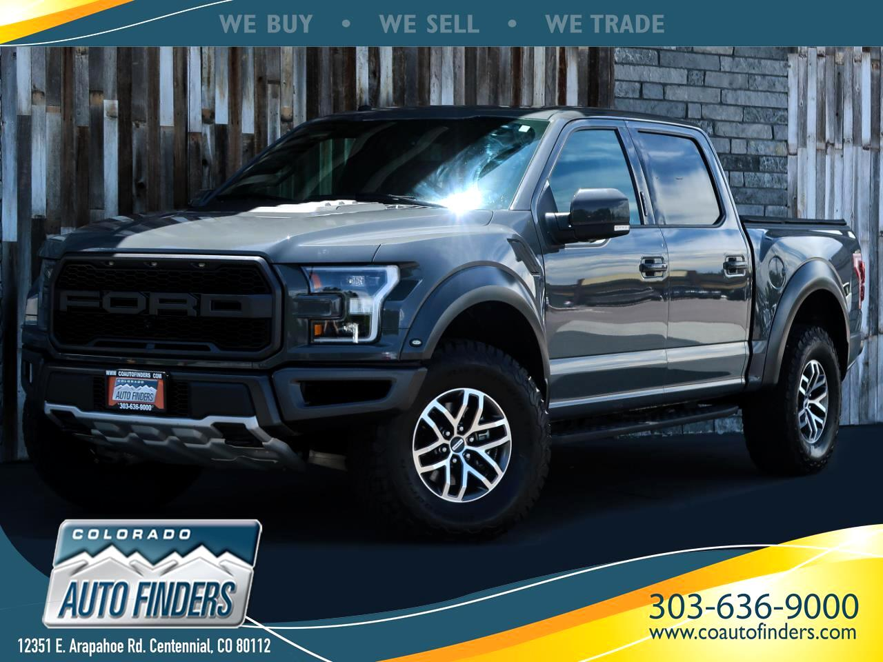 2018 Ford F-150 Raptor 4WD SuperCrew 5.5' Box