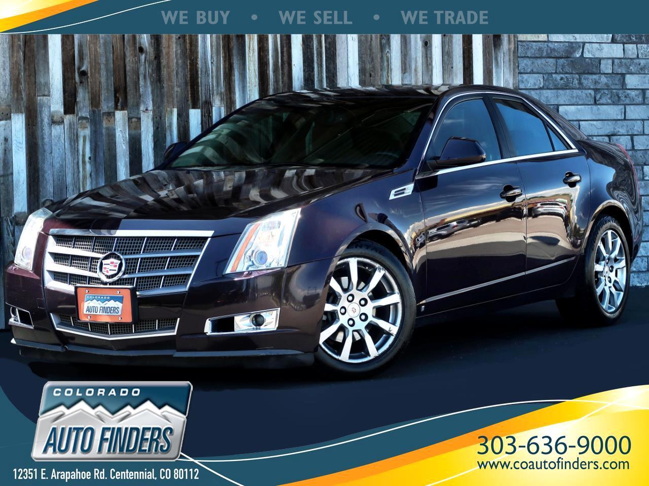 2009 Cadillac CTS 4dr Sdn AWD w/1SB