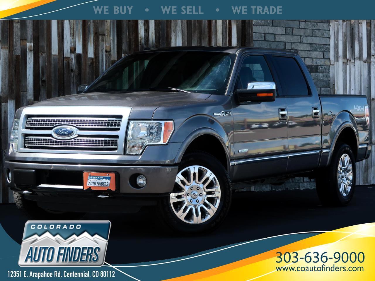 """2012 Ford F-150 4WD SuperCrew 145"""" Platinum"""