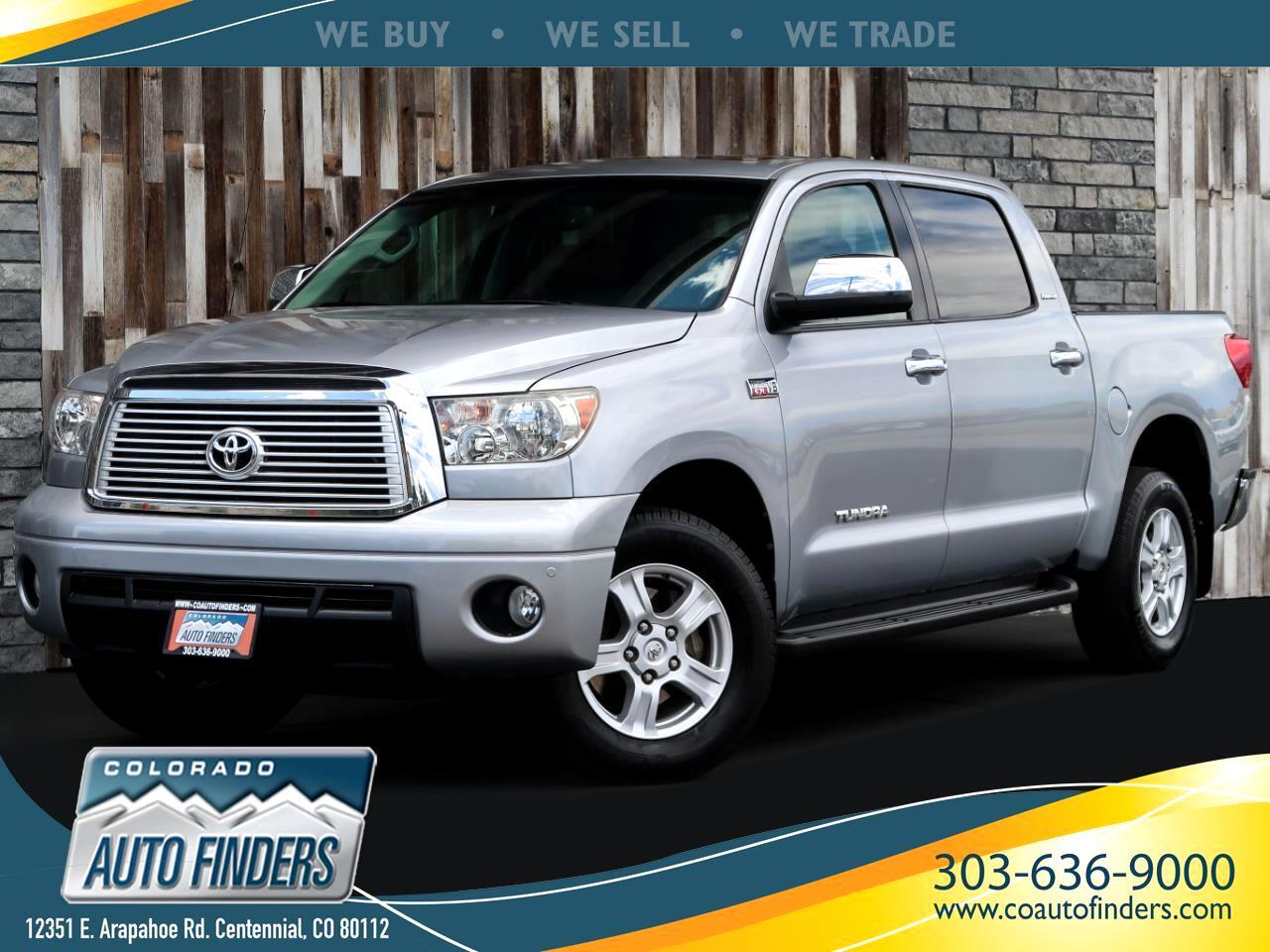 2012 Toyota Tundra 4WD Truck CrewMax 5.7L V8 6-Spd AT LTD (Natl)