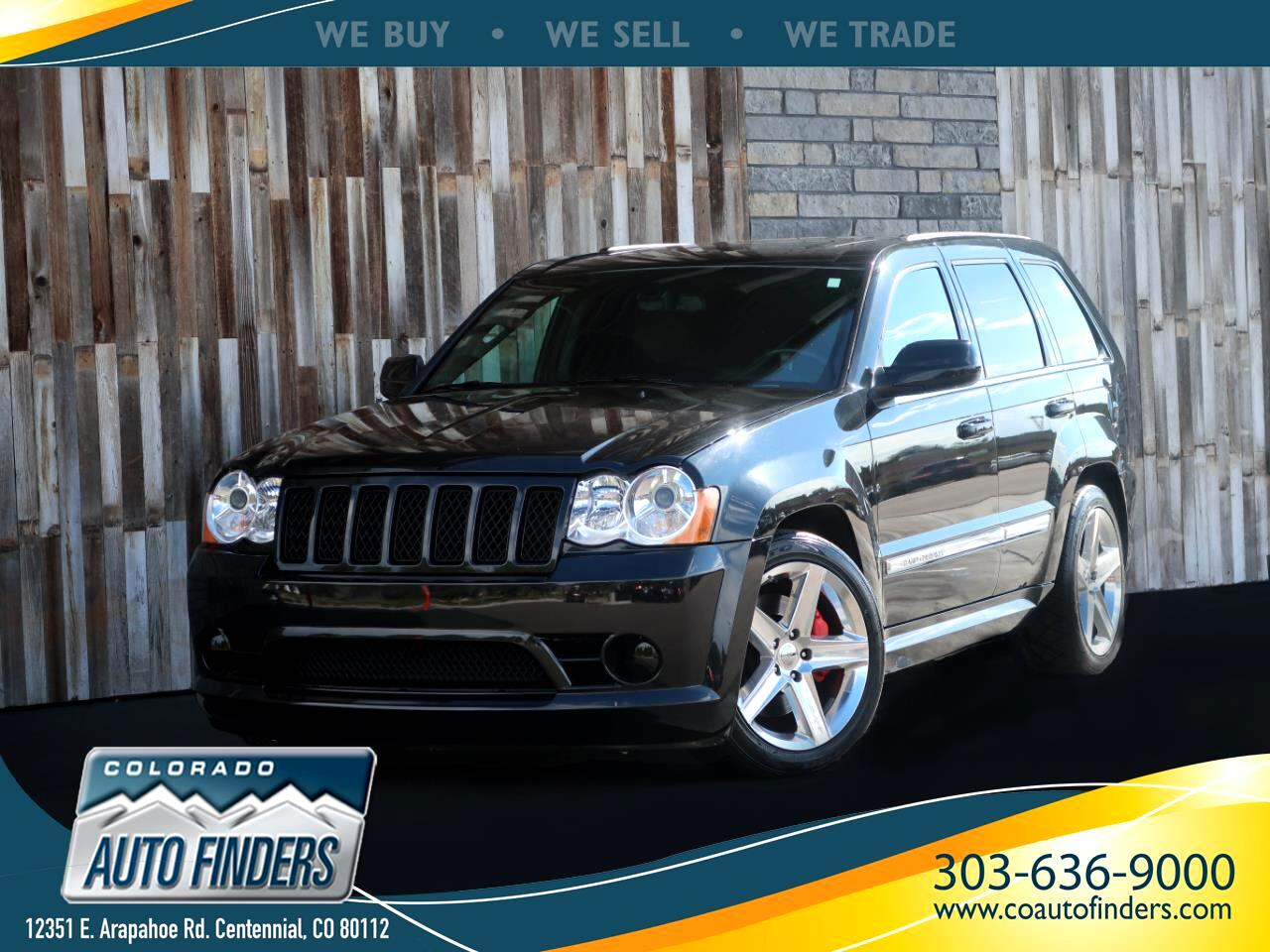 Jeep Grand Cherokee 4WD 4dr SRT-8 2010