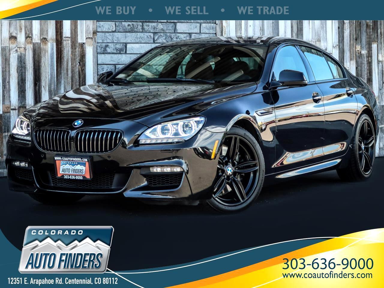 2015 BMW 6 Series 4dr Sdn 640i xDrive AWD Gran Coupe