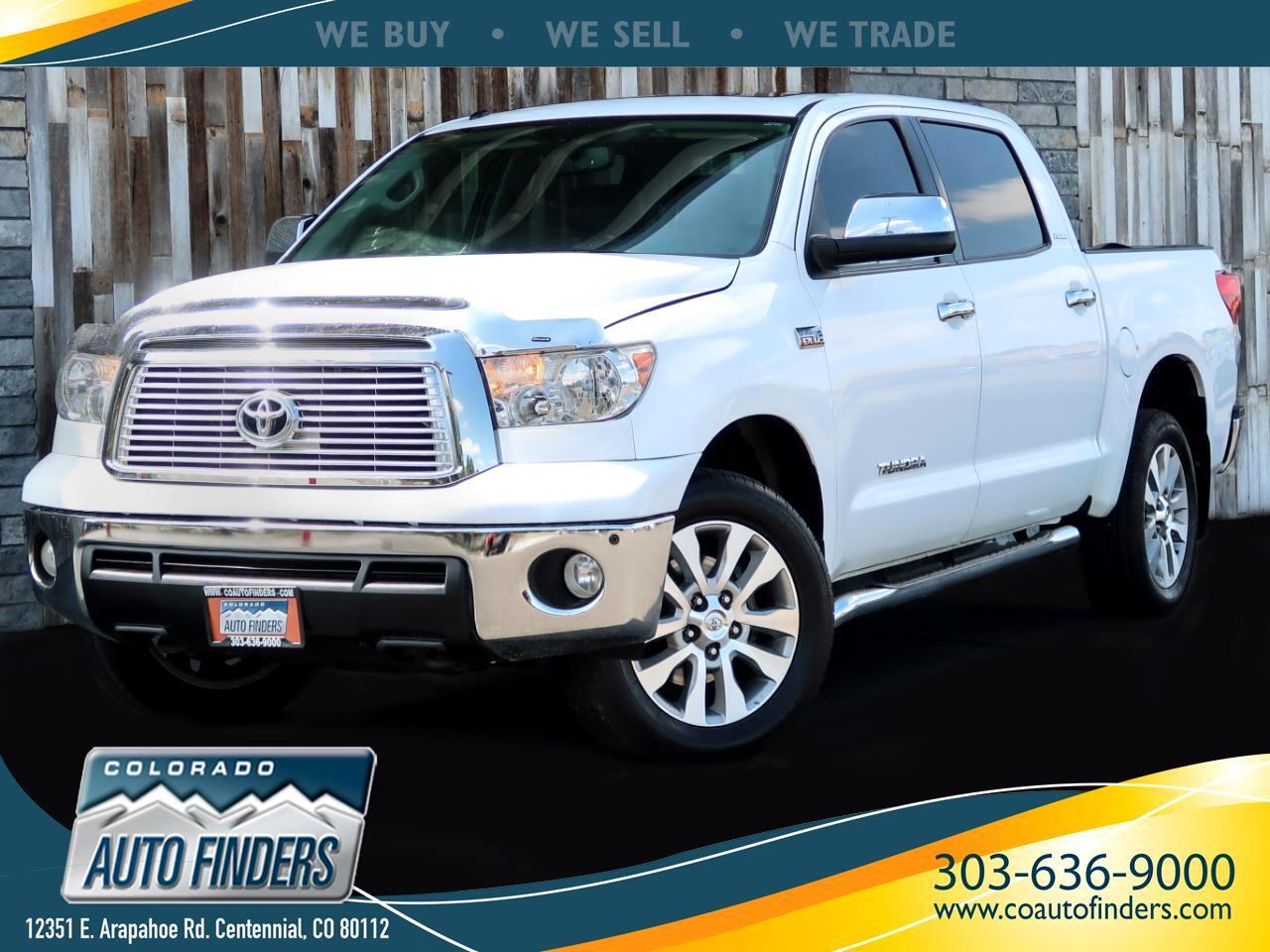 2013 Toyota Tundra 4WD Truck CrewMax 5.7L FFV V8 6-Spd AT Platinum (Natl)