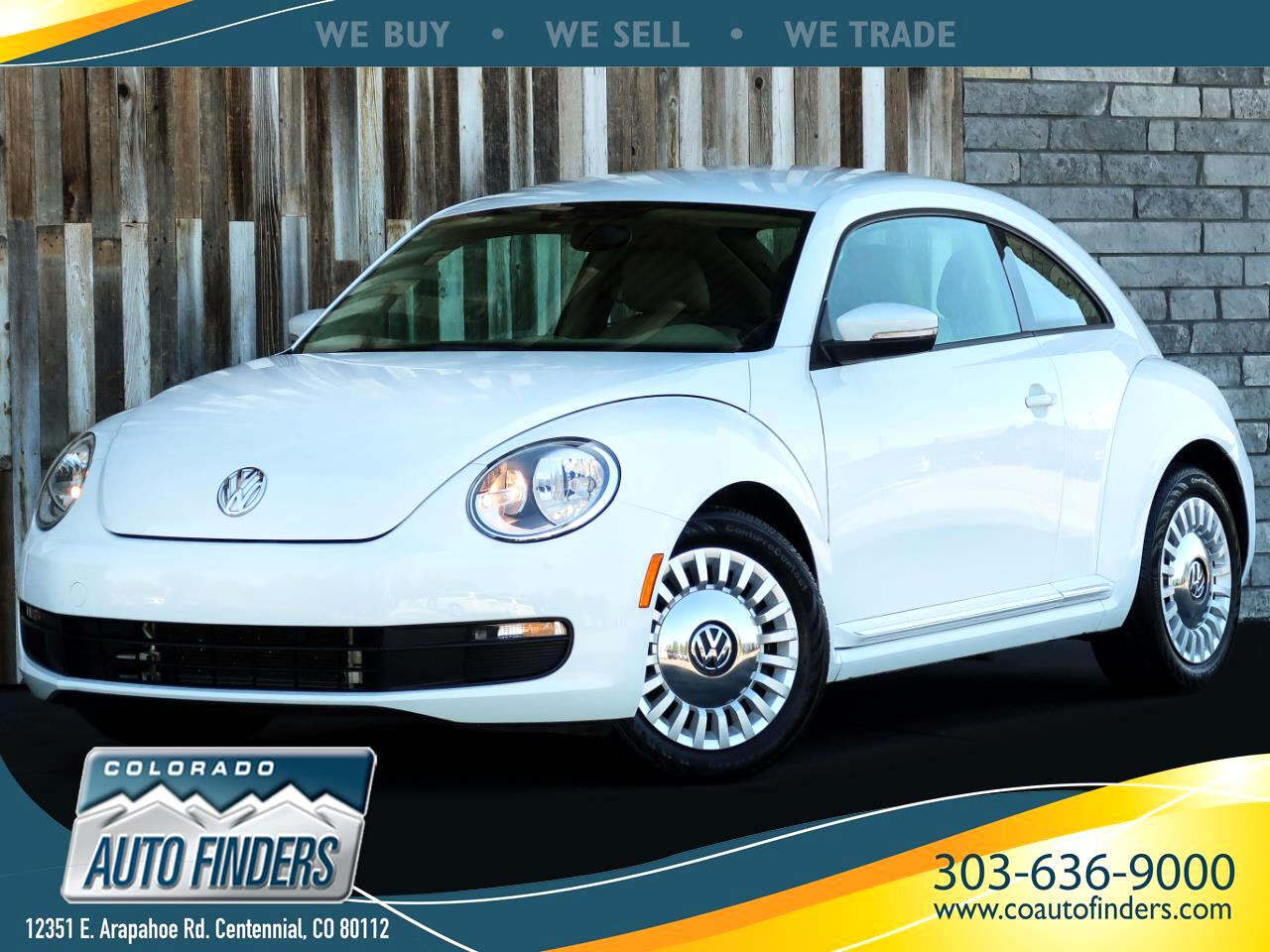 Volkswagen Beetle Coupe 2dr Auto 1.8T PZEV 2015