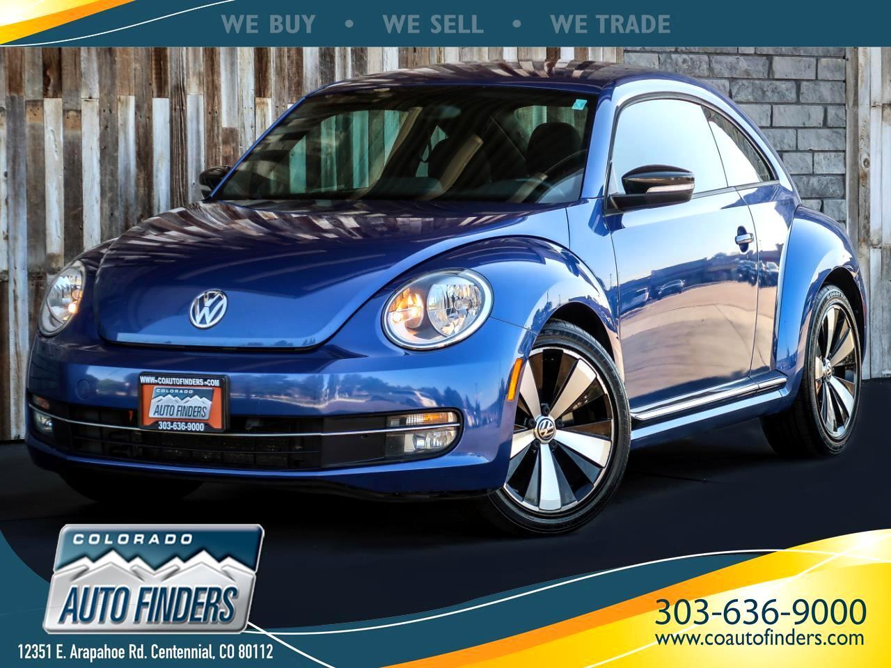 2013 Volkswagen Beetle Coupe 2dr DSG 2.0T Turbo *Ltd Avail*