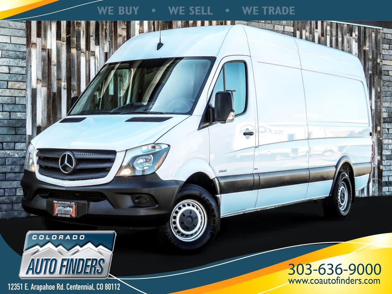 "2016 Mercedes-Benz Sprinter Cargo Vans RWD 2500 170"" EXT"