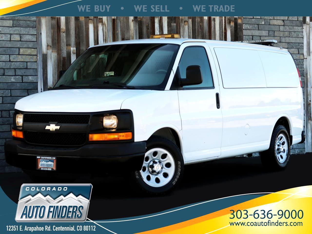 2009 Chevrolet Express Cargo Van AWD 1500 135