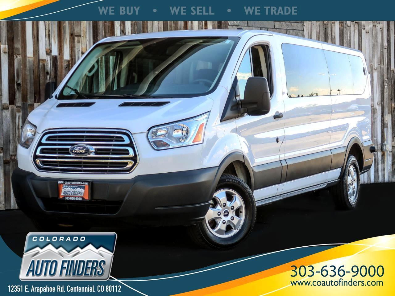 "Ford Transit Passenger Wagon T-350 148"" Low Roof XLT Sliding RH Dr 2018"