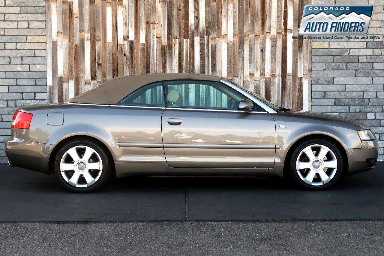 2006 Audi A4 2dr Cabriolet 3.0L quattro Auto