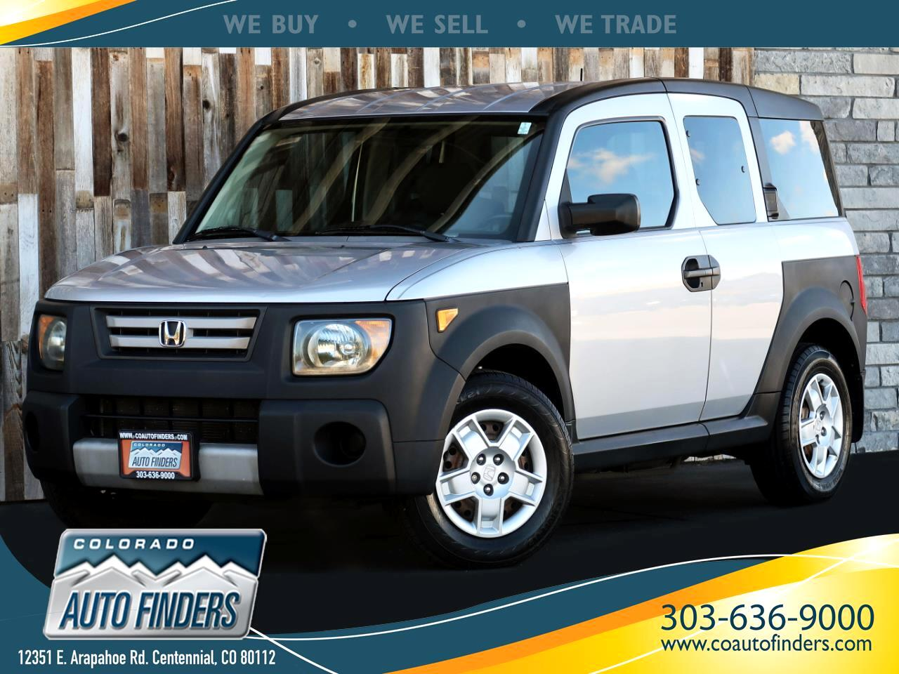 2007 Honda Element 4WD 4dr AT LX