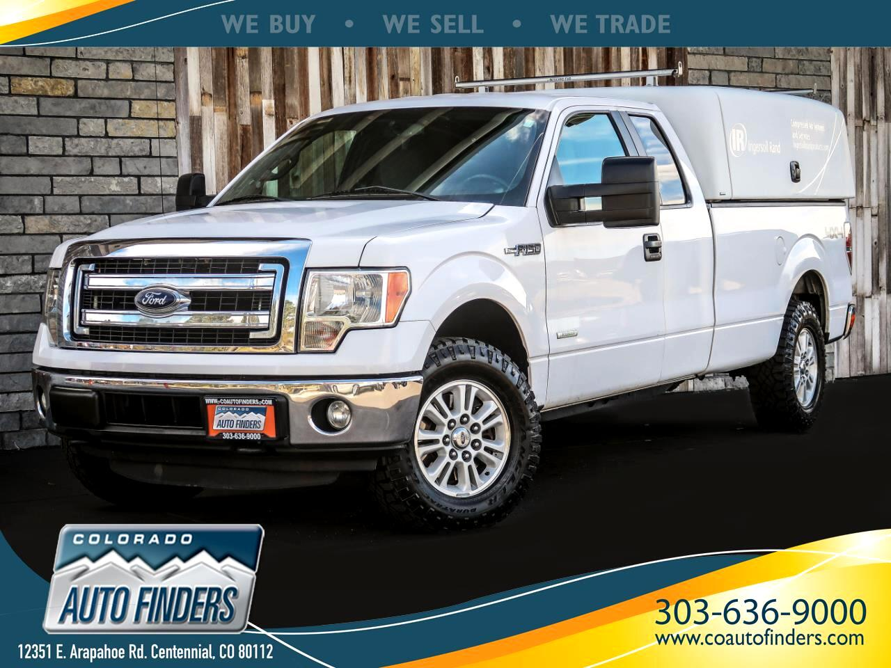 "Ford F-150 4WD SuperCab 163"" XL w/HD Payload Pkg 2014"