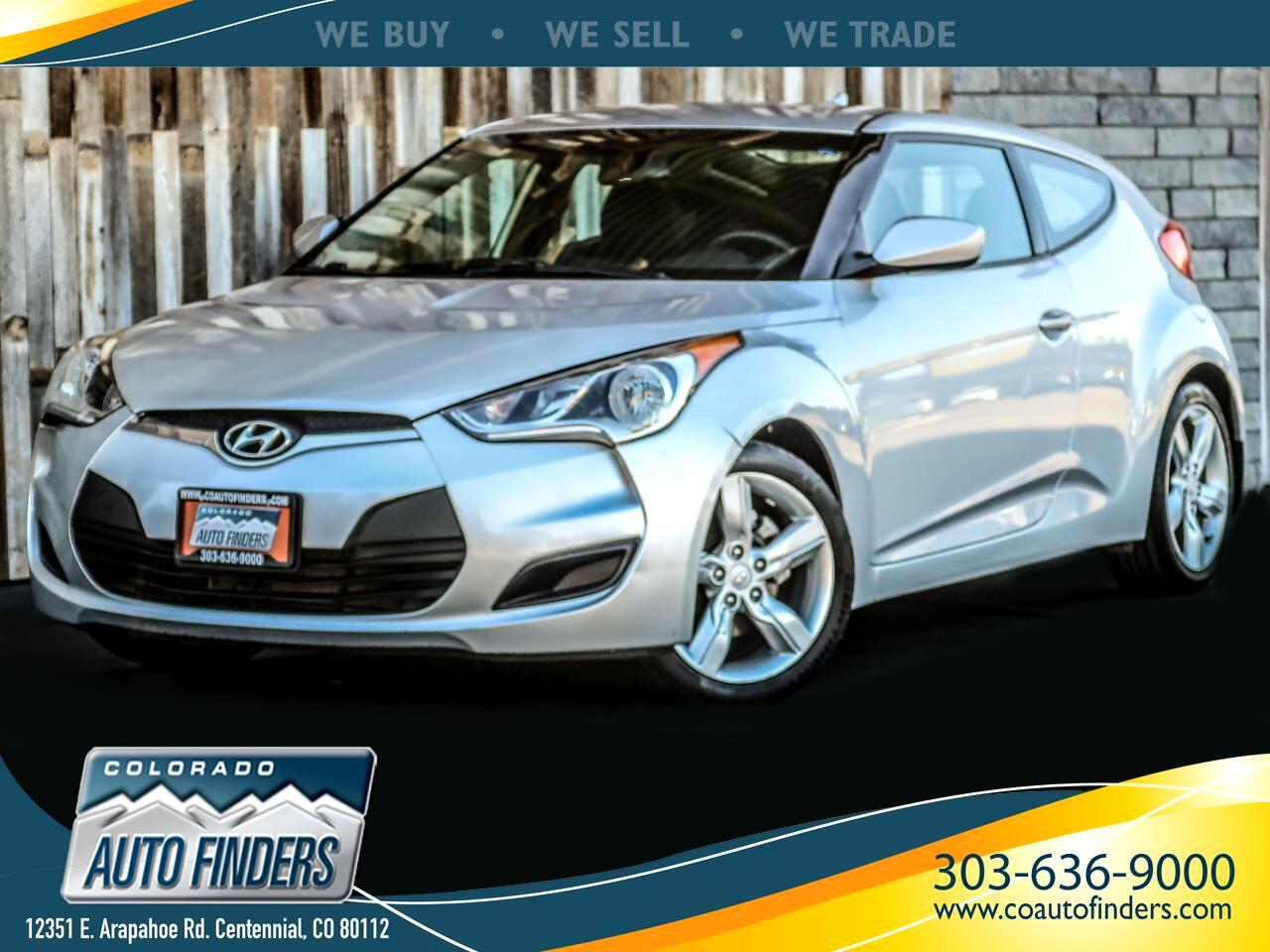 Hyundai Veloster 3dr Cpe Man w/Black Int 2012