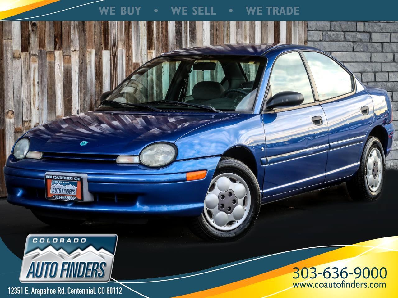 1995 Dodge Neon Highline sedan