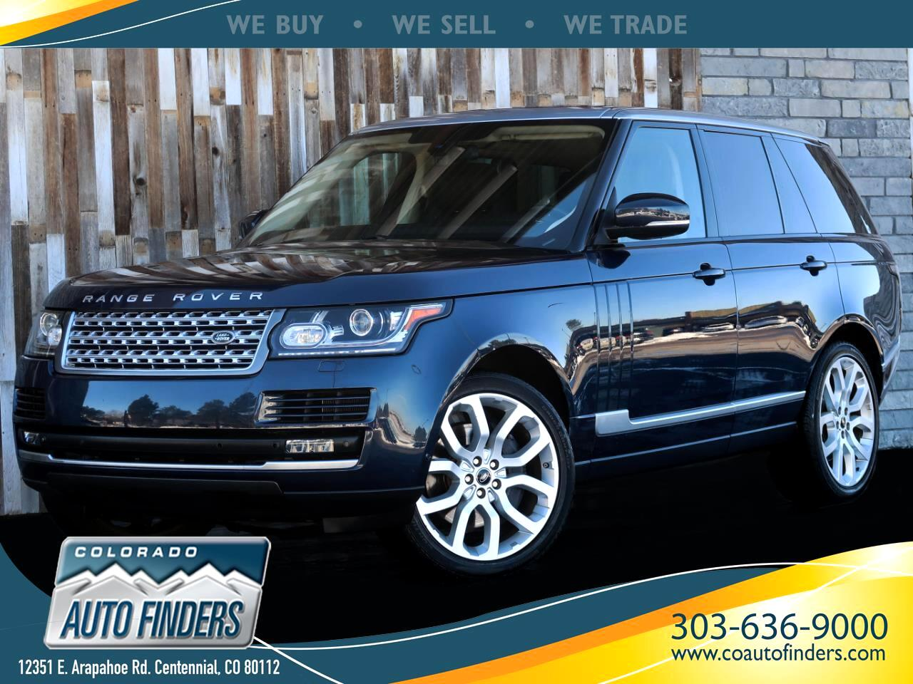 2013 Land Rover Range Rover 4WD 4dr Supercharged