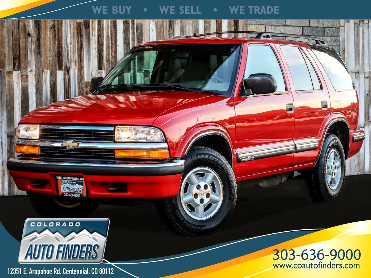 Chevrolet Blazer 4-Door 4WD 1999