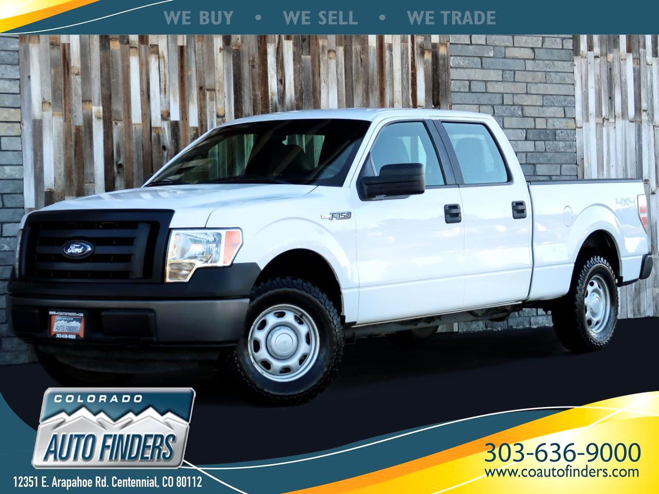 Ford F-150 XL 6.5-ft. Bed 4WD 2011