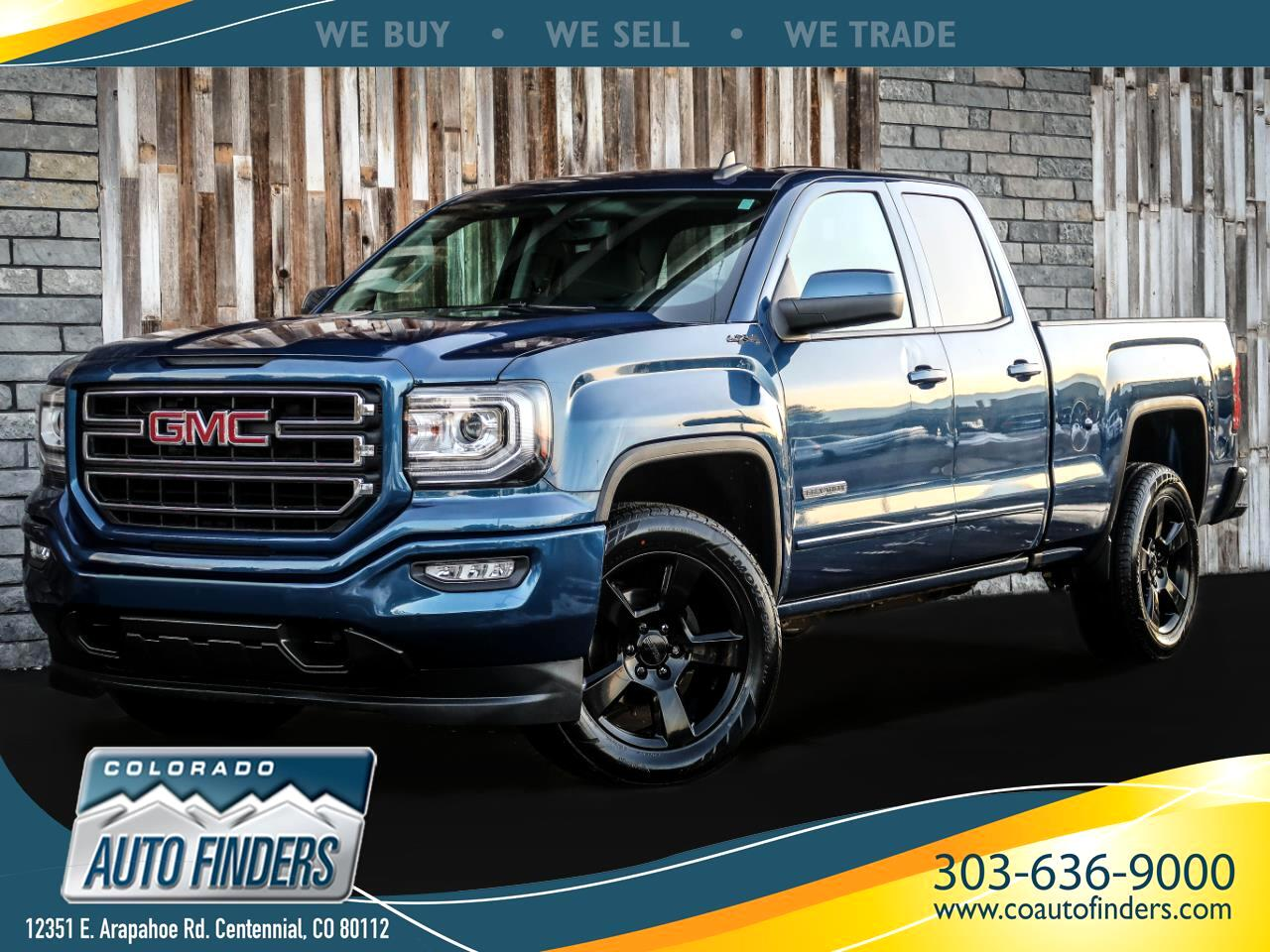 GMC Sierra 1500 Base Double Cab 4WD 2017