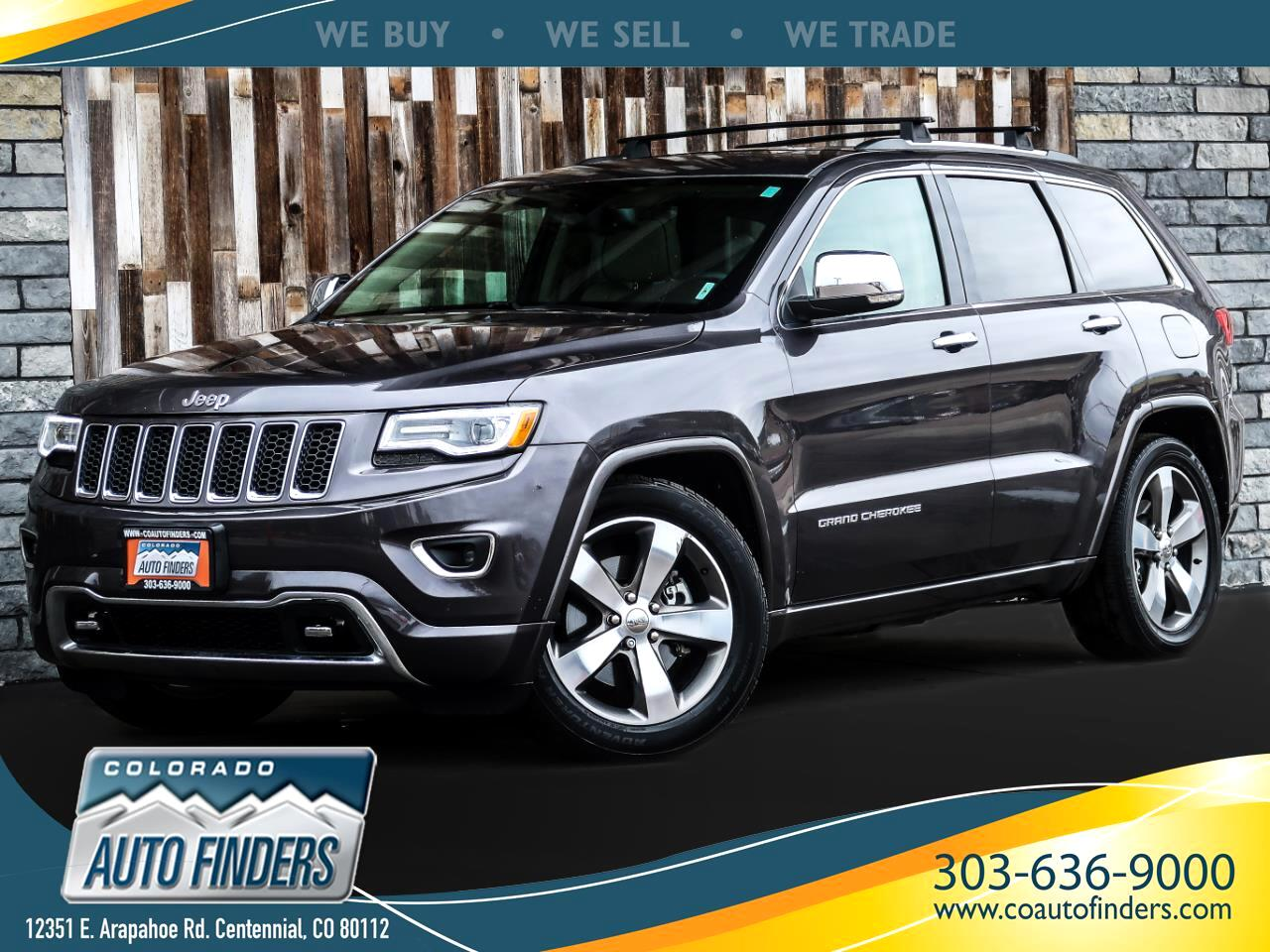 Jeep Grand Cherokee Overland 4WD 2016