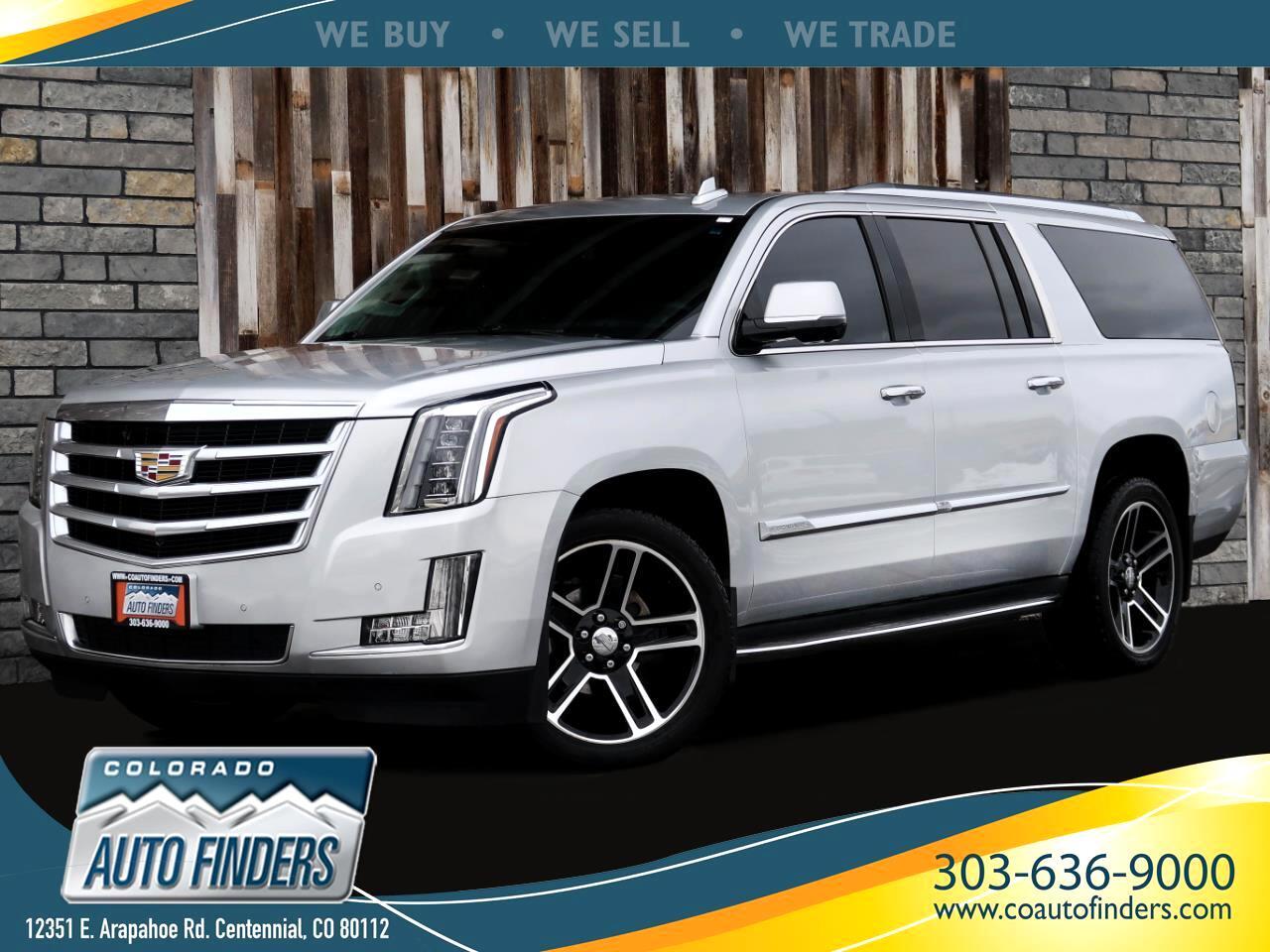 Cadillac Escalade ESV Luxury 4WD 2016