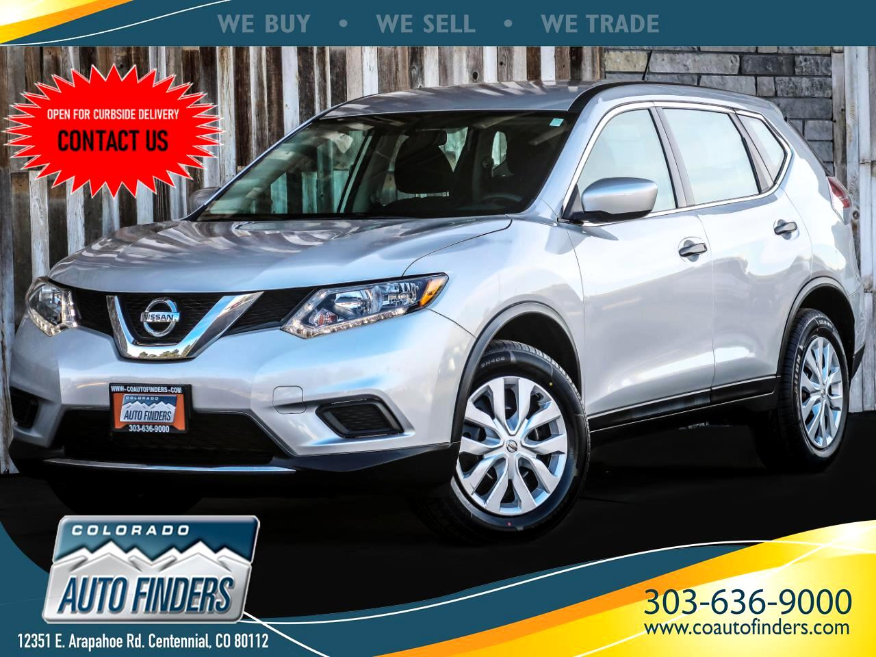 Nissan Rogue 2017.5 AWD S 2016