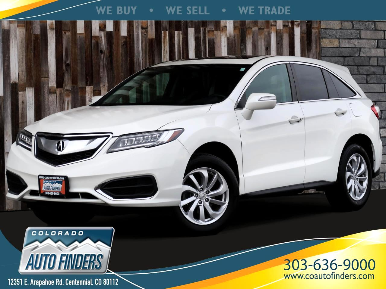 Acura RDX 6-Spd AT AWD w/ Technology Package 2017