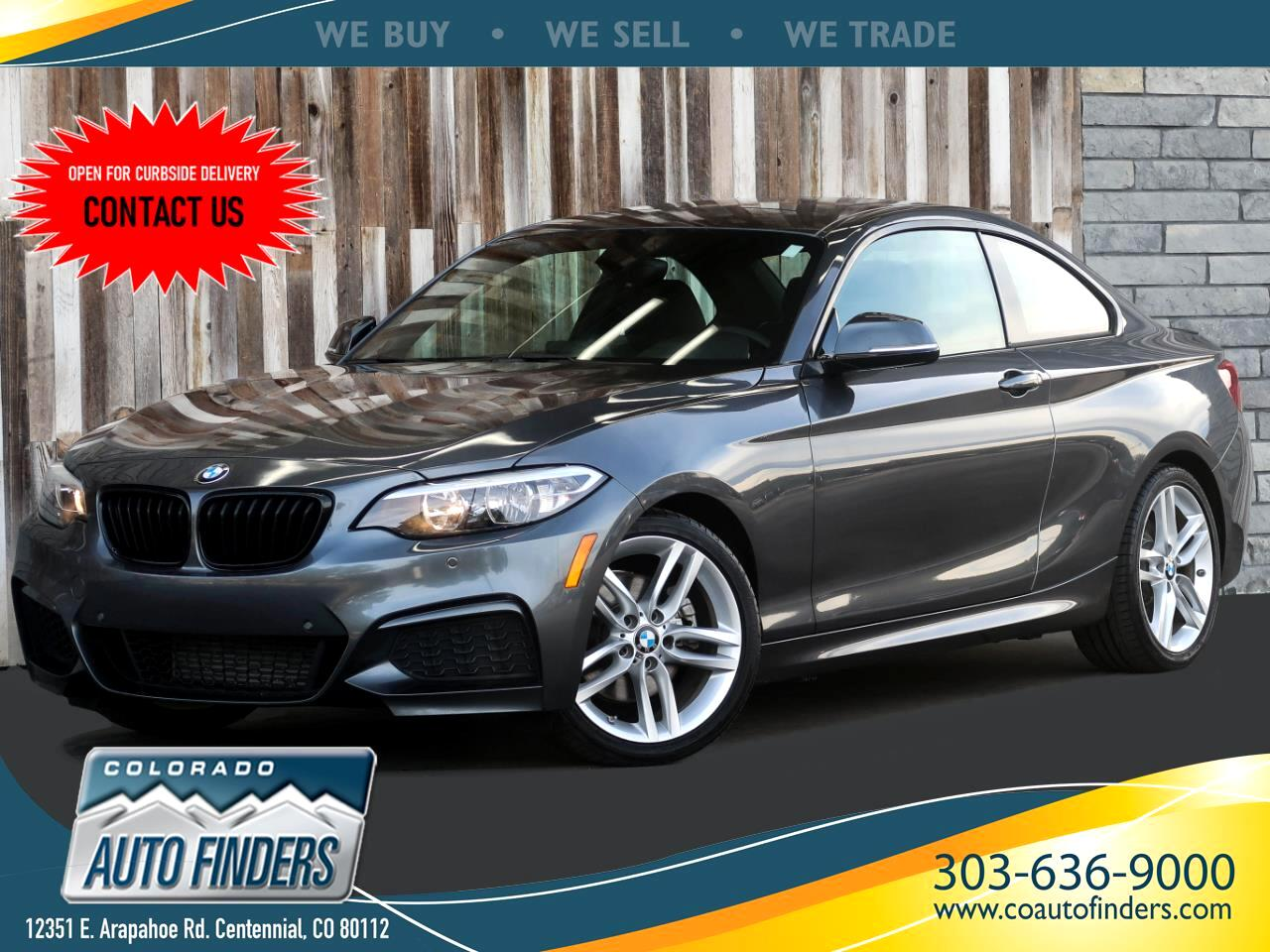 BMW 2-Series 228i SULEV Coupe 2016