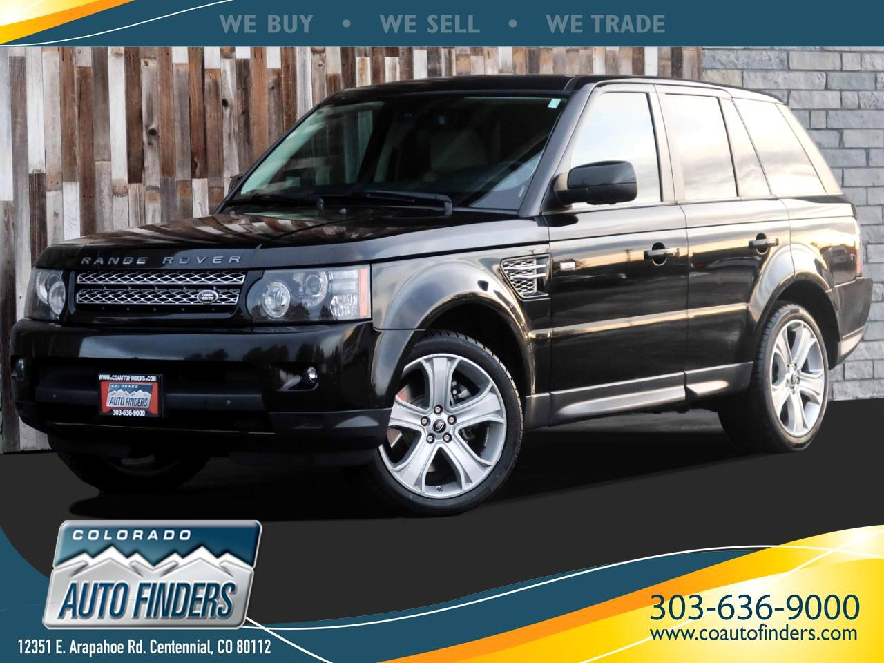 Land Rover Range Rover Sport HSE 2013