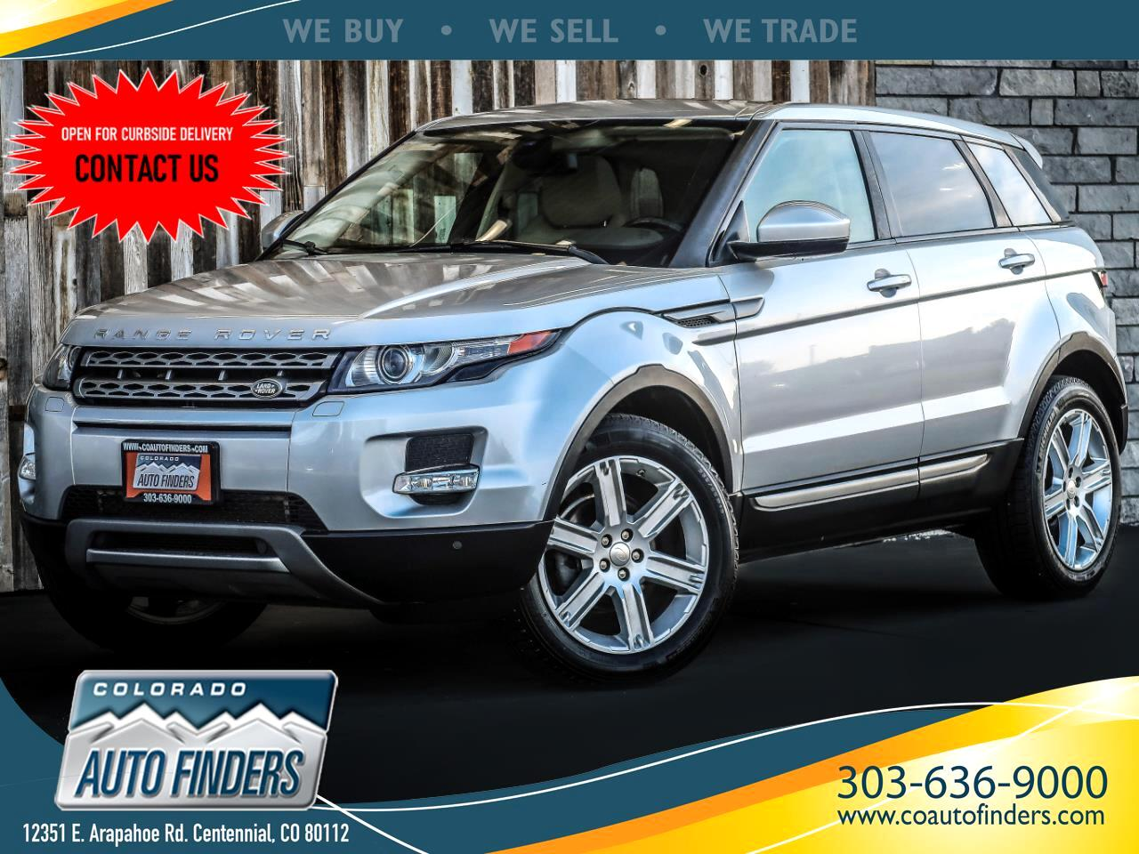 Land Rover Range Rover Evoque Pure Plus 5-Door 2015