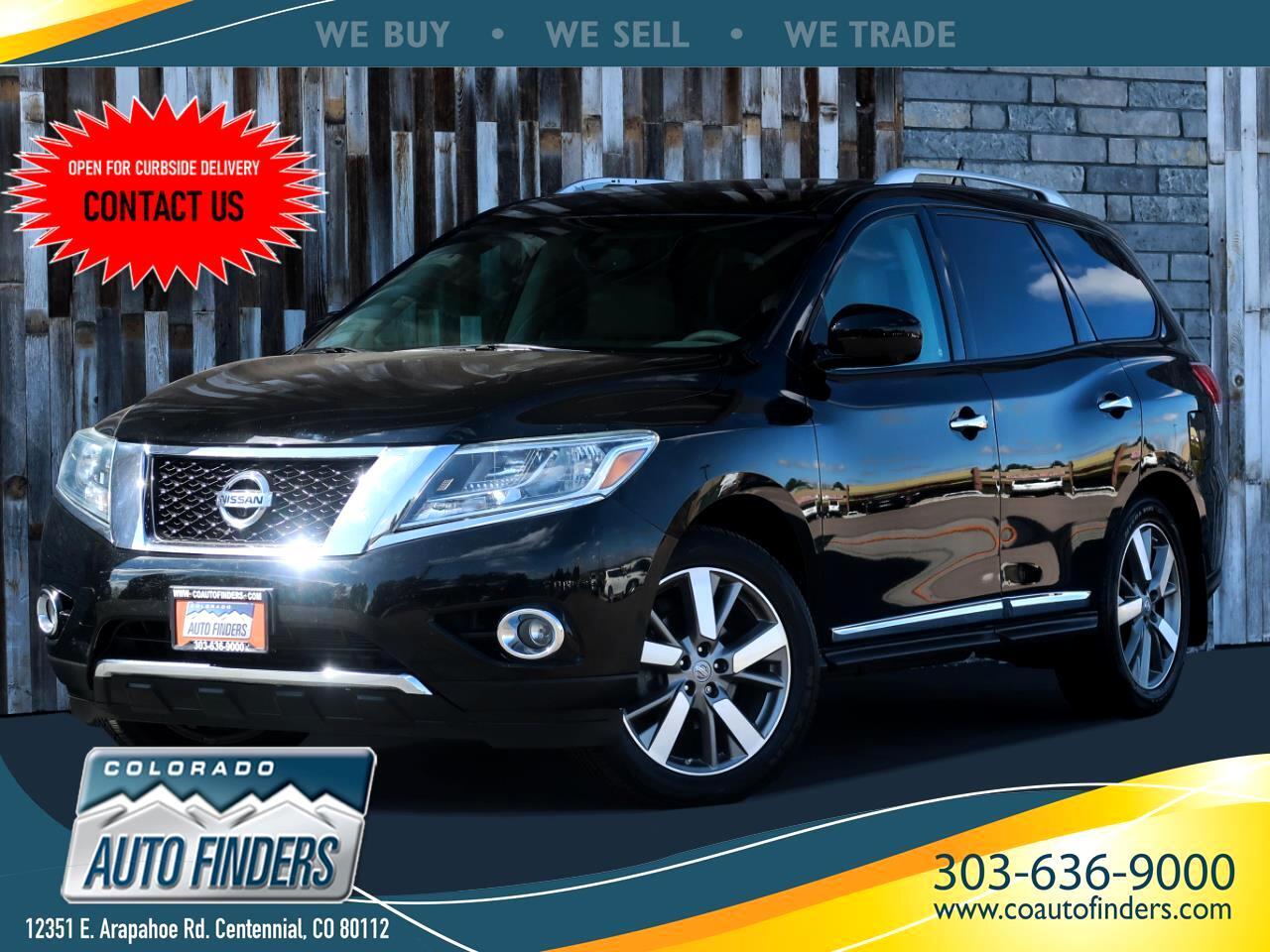 Nissan Pathfinder 4WD 4dr Platinum 2014