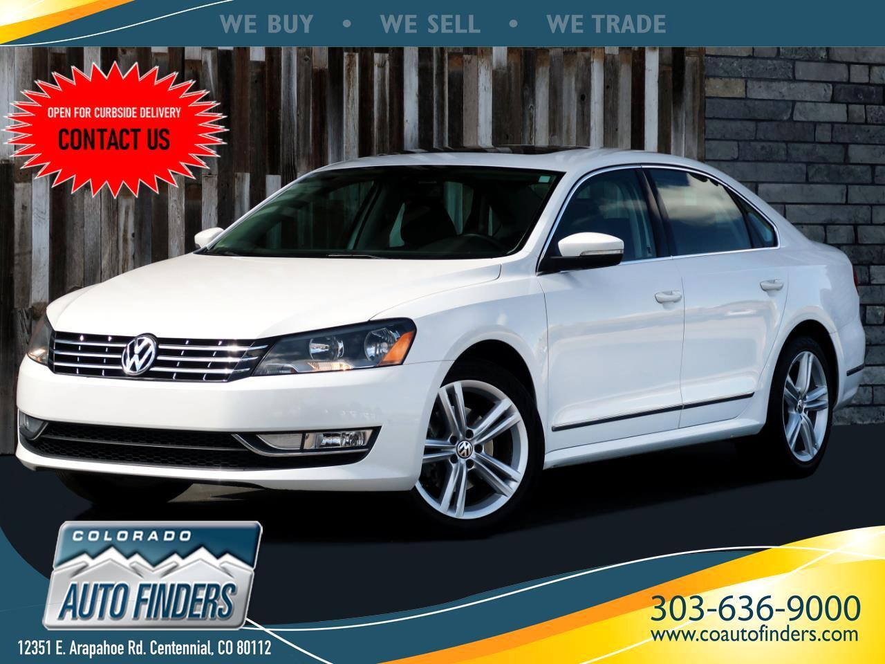 Volkswagen Passat 2.0L TDI SEL Premium 2013