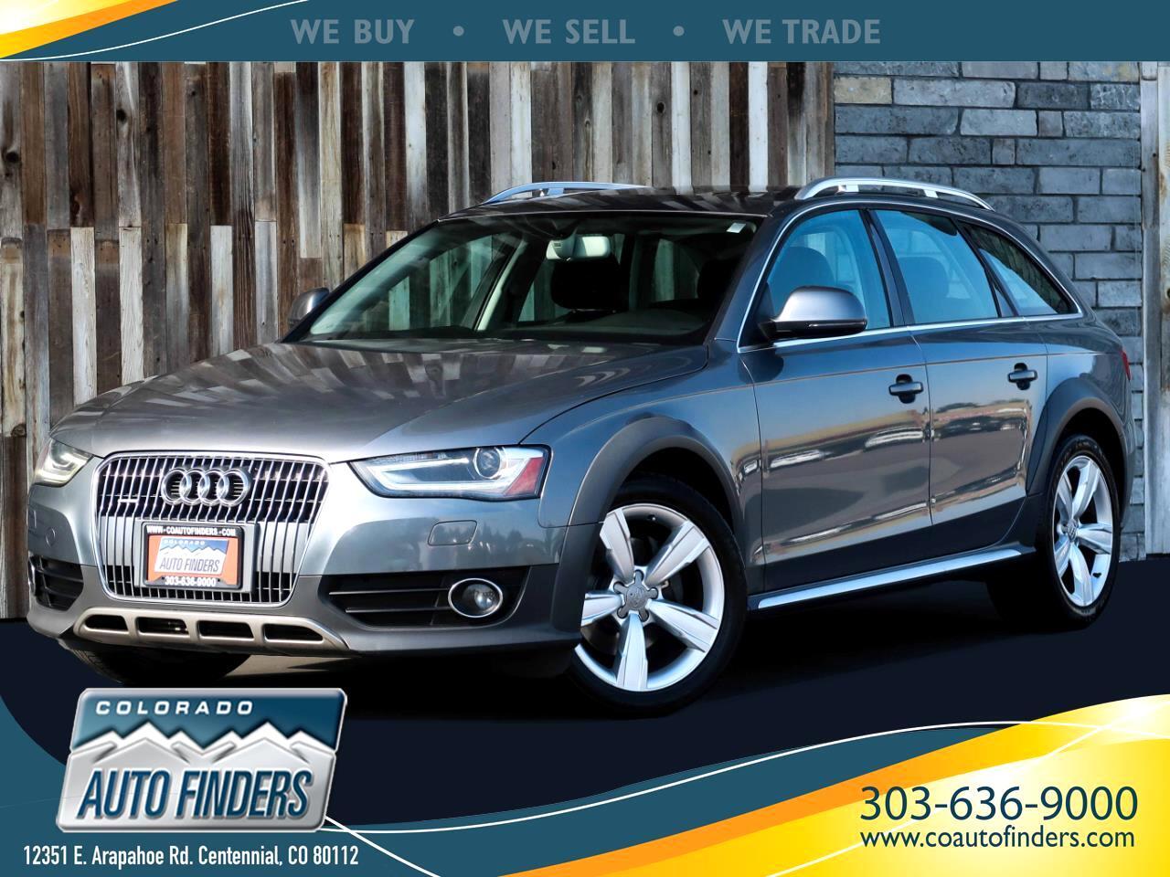 Audi allroad 2.0T Premium quattro Tiptronic 2014